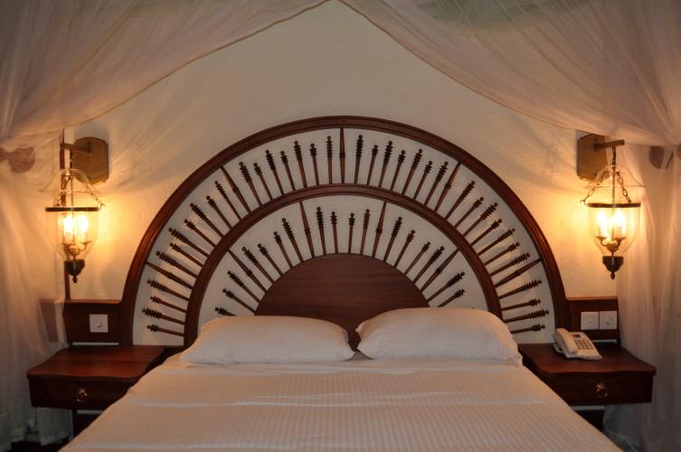 Manyara Wildlife bed