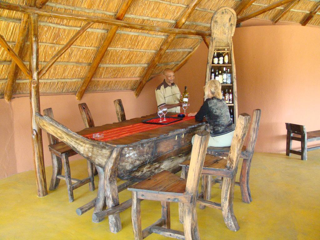 bar at manyara wildlife safari camp