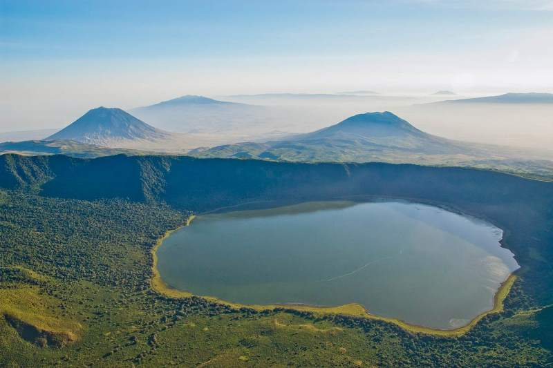 Embarkai crater in Ngorongoro conservation area