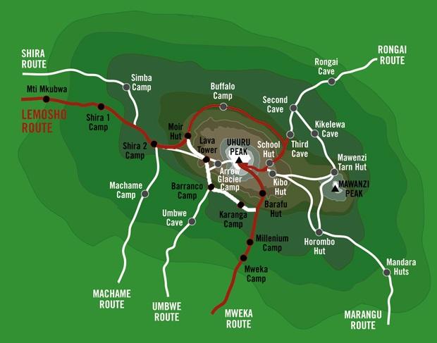Kilimanjaro climbing 9 days